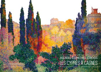 Maleriet er et landskabsmaleri, bestående af træer og buske og med bygninger ude i horisonten