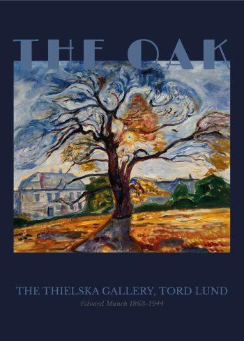 Museumsplakat med maleriet Eiken af Edvard Munch