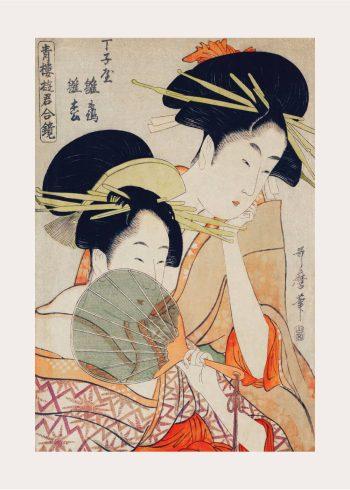 japanske kvinder på plakat