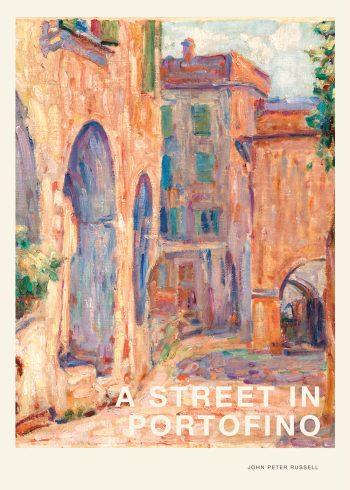 Smuk plakat af italiensk gade
