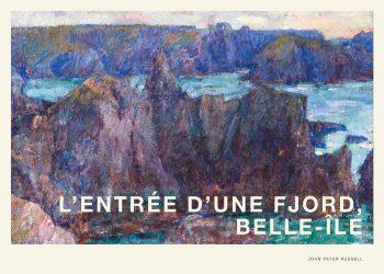 Smukt motiv af fjord
