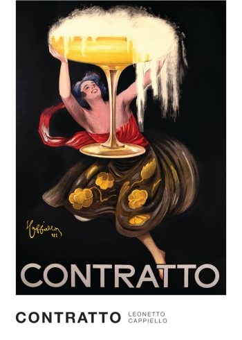 Leonetto-Cappiello contratto art work