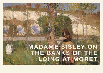 Smukt maleri af kvinde i en have