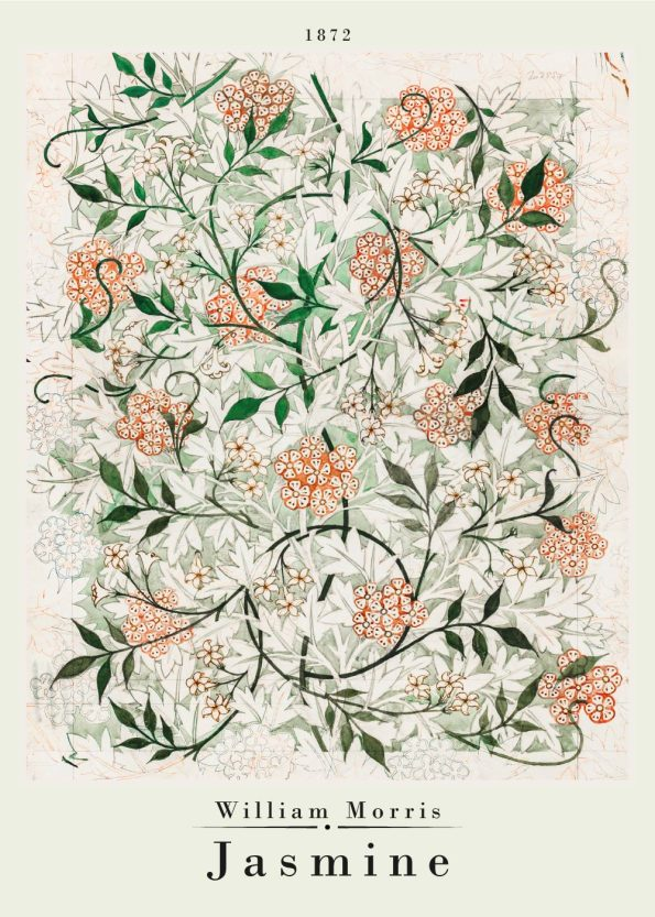 jasmine pattern by william morris