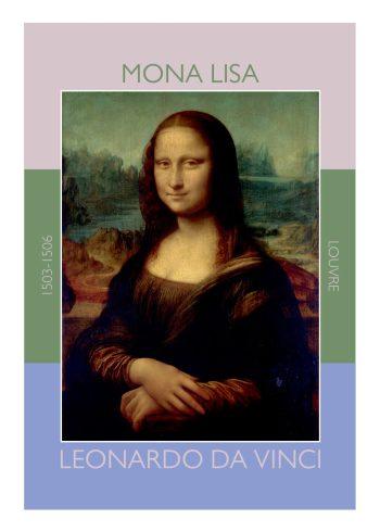 Mona lisa plakat