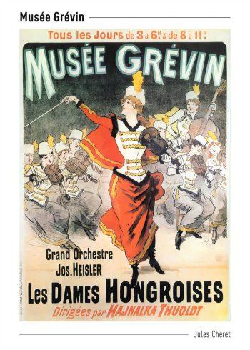 Musée Grévin plakat af jules chéret
