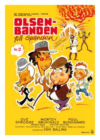 Olsen Banden filmplakater