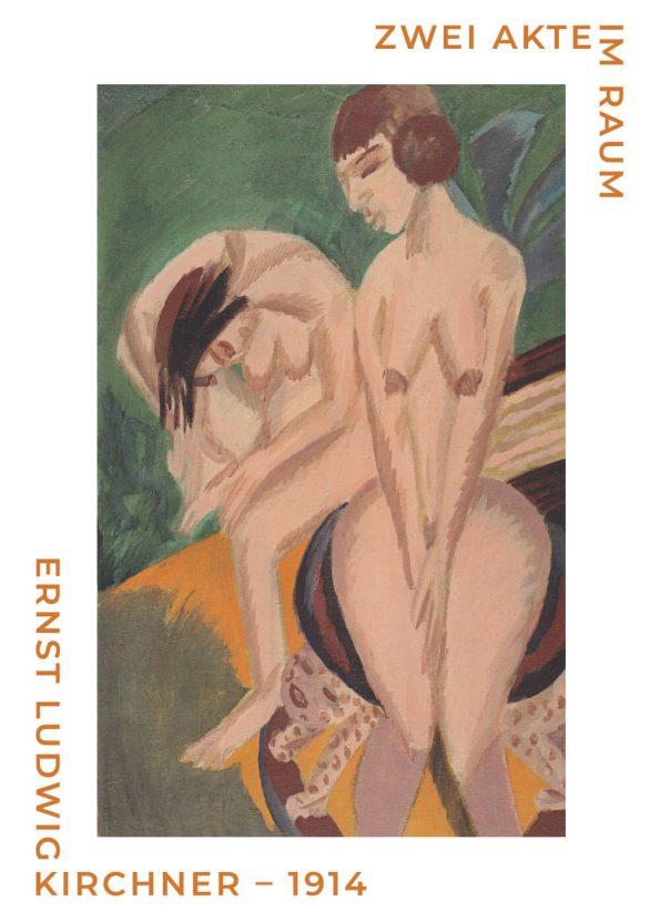 Ernst L. Kirchner med plakten