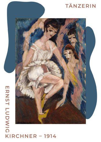 Ernst L. Kirchner plakater