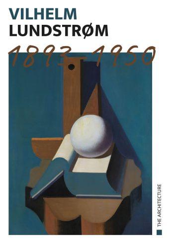 åben bog med hvid kugle, brun og blå baggrund