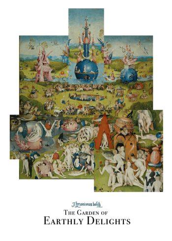 The garden of the earthly delights plakat af Hieronymus Bosch