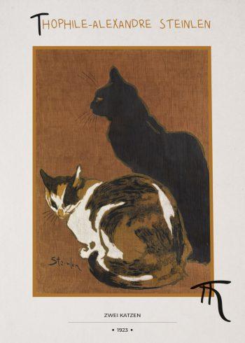 to katte med brun baggrund
