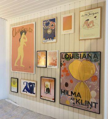 Plakater til soveværelset