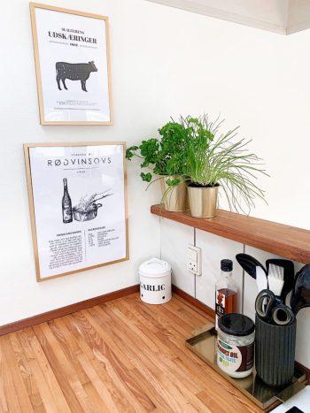 Plakater til køkkenet