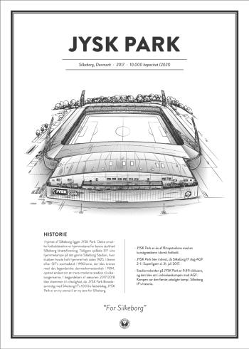 jysk park stadionplakat