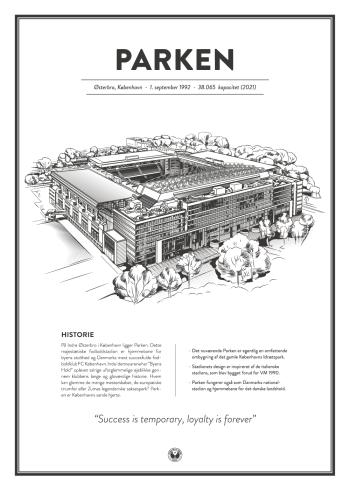 Parken stadionplakat